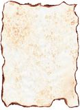 stary papier oznaczane Zdjęcie Royalty Free
