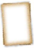 stary papier składa dwa Zdjęcia Royalty Free