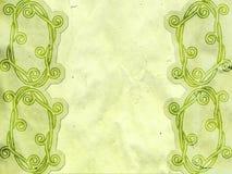 Stary papier z celta wzorem Zdjęcie Stock