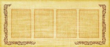 stary papierowy pergamin royalty ilustracja