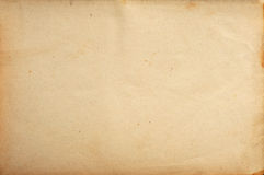 Stary papierowy tło Zdjęcia Royalty Free