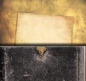 Stary papieru i książki tło Zdjęcie Royalty Free