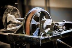 Stary pasowy prowadnikowy mechanizm Obrazy Stock
