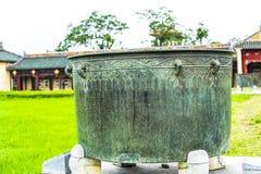 Stary pawilon, kompleks odcieni zabytki w odcieniu, światowego dziedzictwa miejsce, Wietnam obrazy stock