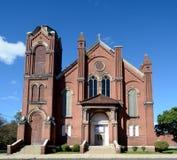 Stary Peoria kościół zdjęcia stock