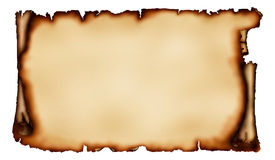 stary pergaminowy kawałek Obraz Royalty Free
