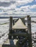stary pier Fotografia Stock
