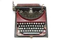 stary pisarz starego typu Zdjęcie Royalty Free