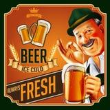 STARY piwo Ilustracji