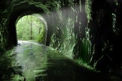 stary plazaola s tunelu Zdjęcie Royalty Free