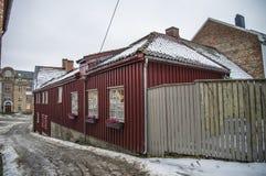 Stary południowy kopiec (w norwegu: Obrazy Royalty Free