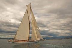 stary pożeglować łodzi Fotografia Royalty Free