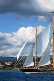 stary pożeglować łodzi Obrazy Royalty Free
