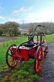 Stary pożarniczego silnika rydwan Zdjęcia Royalty Free