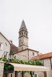 Stary połowu miasteczko Perast na brzeg Kotor zatoka Obraz Royalty Free
