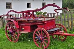 Stary pożarniczy silnik Zdjęcia Royalty Free