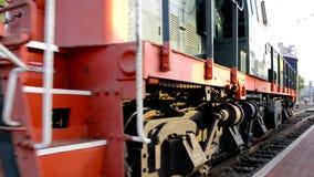 stary pociąg zdjęcie wideo