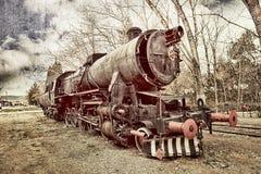 stary pociąg Obraz Stock