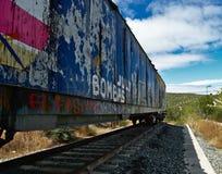 stary pociąg Zdjęcie Royalty Free