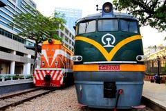 Stary pociąg w Chiny Zdjęcie Stock