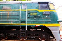 Stary pociąg w Chiny Obraz Royalty Free