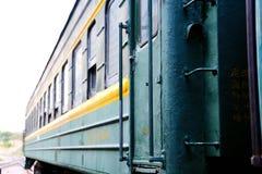 Stary pociąg w Chiny Obrazy Royalty Free