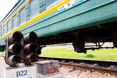 Stary pociąg w Chiny Fotografia Stock