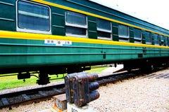 Stary pociąg w Chiny Fotografia Royalty Free