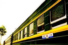 Stary pociąg w Chiny Zdjęcia Stock
