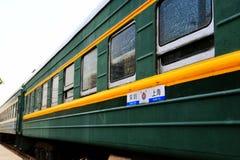 Stary pociąg w Chiny Zdjęcie Royalty Free