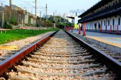 Stary pociąg w Chiny Zdjęcia Royalty Free