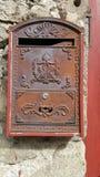 stary poczta pudełkowaty metal Zdjęcie Stock