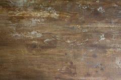 Stary podławy drewniany tabletop tło zdjęcie stock