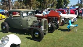 stary pokaz mody samochodów Obrazy Stock