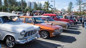 stary pokaz mody samochodów Obrazy Royalty Free