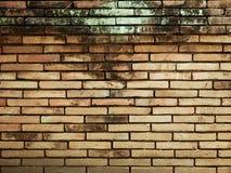 Stary pomarańczowy ściana z cegieł tekstury tło Zdjęcia Royalty Free