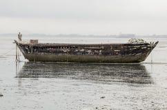 stary połowowych łodzi Fotografia Royalty Free