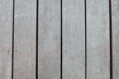 Stary popielaty drewniany panel Obrazy Royalty Free