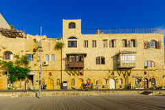 Stary port Jaffa część tel, teraz Zdjęcia Royalty Free