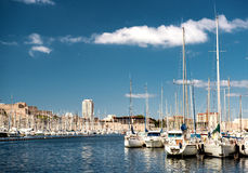 Stary port Marseille Obrazy Stock