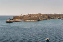 Stary port Valletta w Malta Obrazy Stock