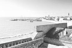 Stary port w Izrael Obraz Royalty Free
