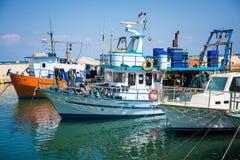 stary port w Tel Aviv Obraz Stock