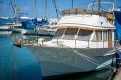 stary port w Tel Aviv Fotografia Royalty Free