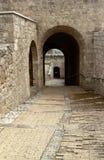 stary portal Obrazy Royalty Free
