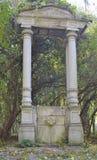 Stary portal przy parkiem Obrazy Stock