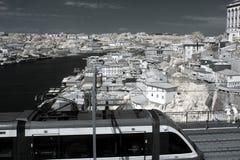 Stary Porto szeroki widok obraz royalty free
