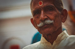 stary portret indyjski Fotografia Stock