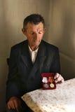 stary portret mężczyzny Zdjęcia Stock
