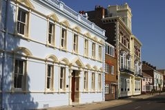 Stary Portsmouth. Hampshire. Anglia Obrazy Royalty Free